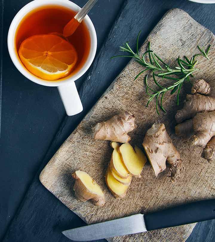 Чай с лимоном и имберем для похудения