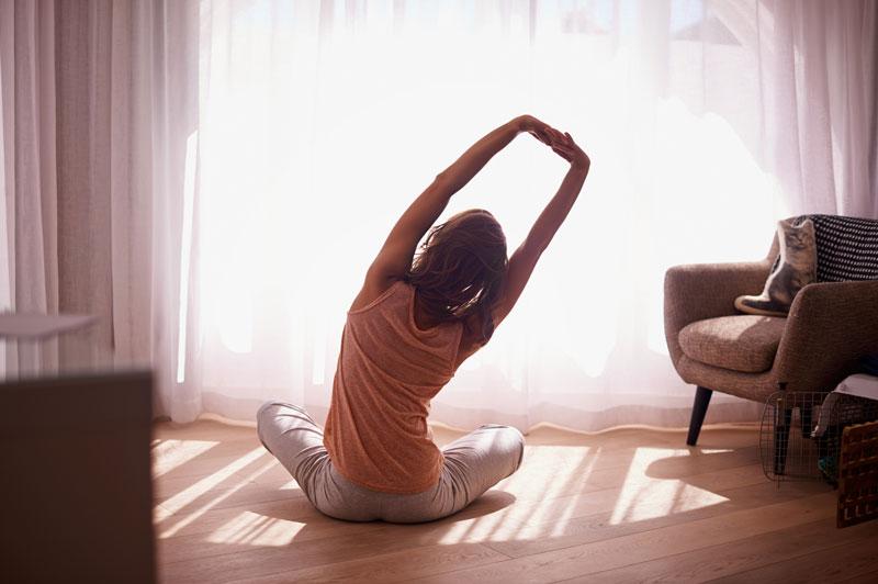 Упражнение на гибкость и растяжку