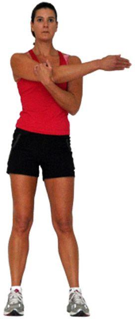 Разминка для плечевого сустава и дельтовидных мышц