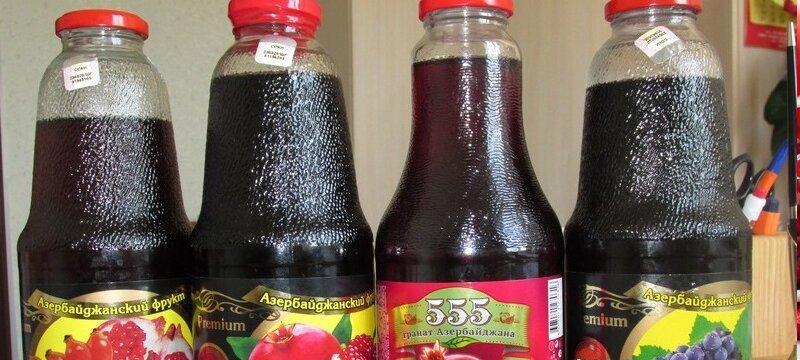 Гранатовый сок заводского происхождения