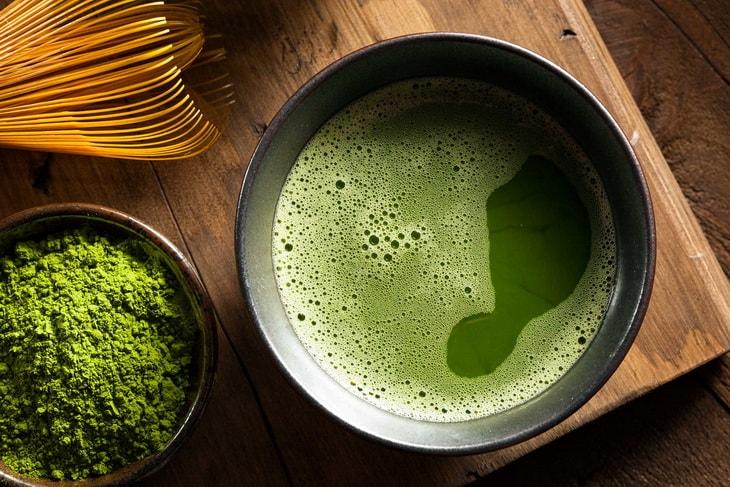 Маття – японский порошковый зелёный чай