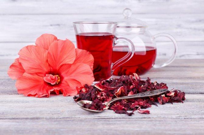 чай каркаде свойства лечебные свойства