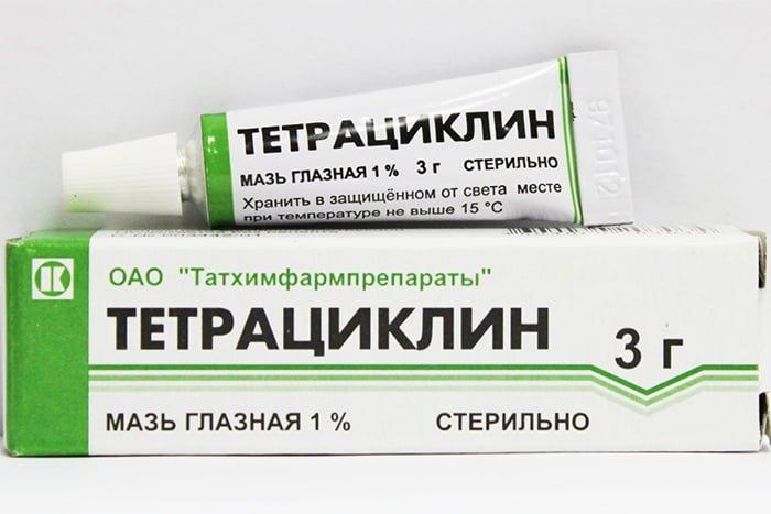 мазь для лечения ячменя
