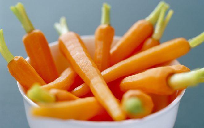 Вареная морковь при кашле