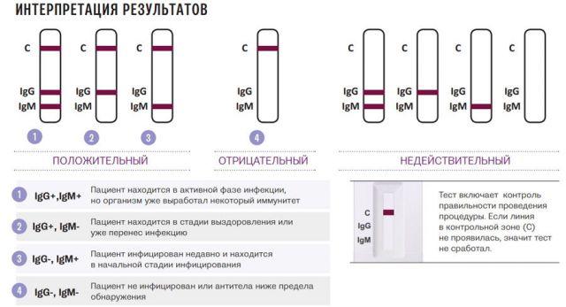 Расшифровка тестов на ковид