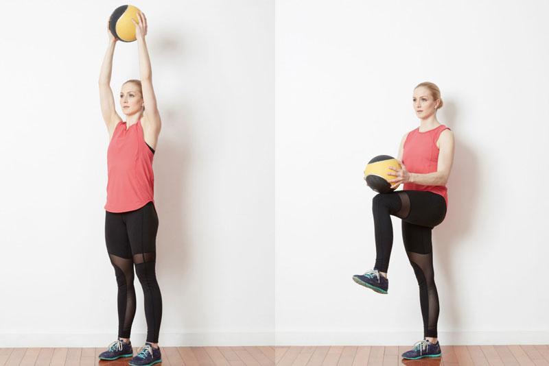 Упражнения с медболом