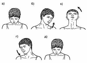 круговые движения головой