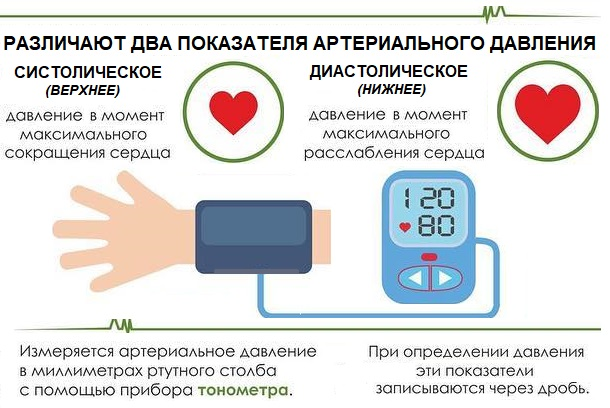 Верхнее и нижнее артериальное давление что это