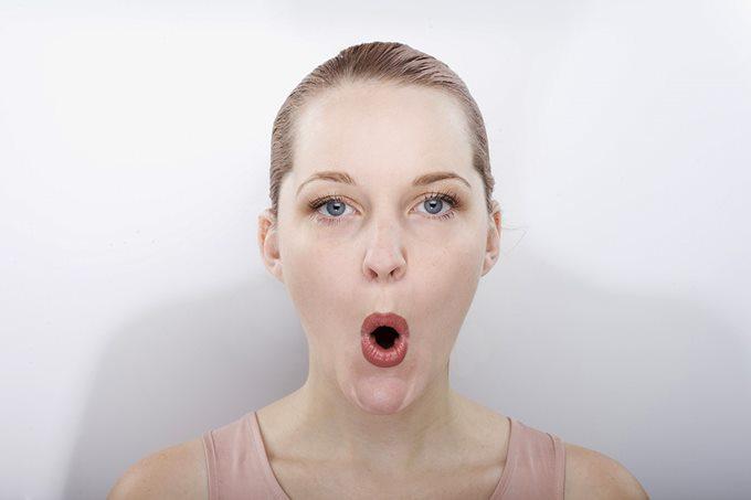 Упражнение «крик», подтягивающее и сохраняющее молодость лица