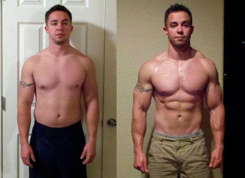 Тренировки мужчины для сжигания жира