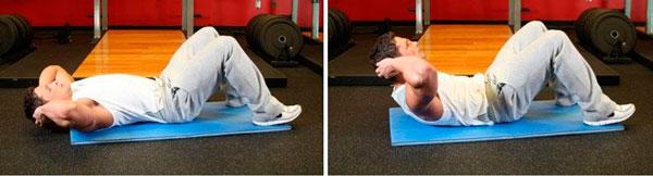 Интенсивное упражнение на сжигание жира на животе