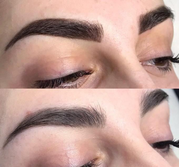 Уход за бровями после перманентного макияжа в зависимости от времени года