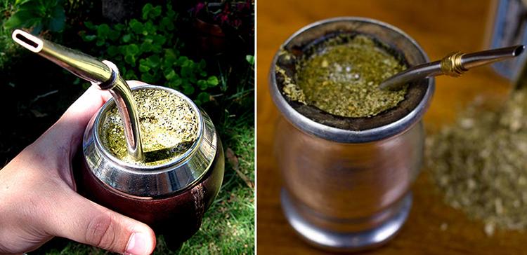 сирийский чай через трубочку